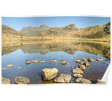 Blea Tarn...Views Of The Pikes Poster