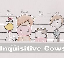 Inquisitive Cows by Will Charlesworth