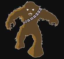Wookie Invaders by Bizarro Tees