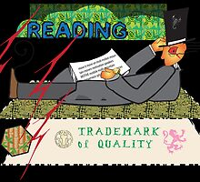 Reading:Trademark of Quality Card by robertemerald