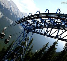 Ride to the top of Sulphur by megpat2000