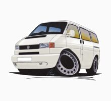 VW T4 White by Richard Yeomans
