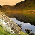 Annascaul Lake by Babsy