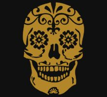 Gold Skull by xogang