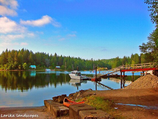 Serenity in a small town by Erika Price