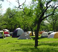 Camping at Enchanted Rock by Charmiene Maxwell-batten