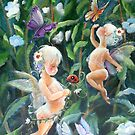 Happiness in my Garden by Robin Pushe'e