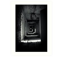 Your Room is the Last on the Left Art Print