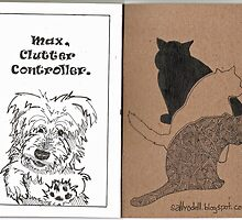 Max & Three Cats by Sally O'Dell