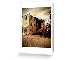 Corner in Mars Hill Greeting Card