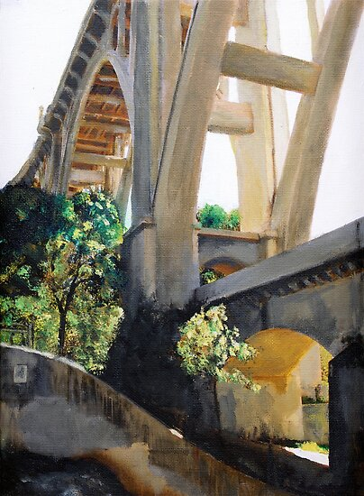 Arroyo Seco Bridge II by Randy Sprout