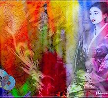 Collage - Asian Style by MaureensArtz