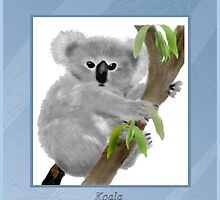 Cute Koala by MaureensArtz