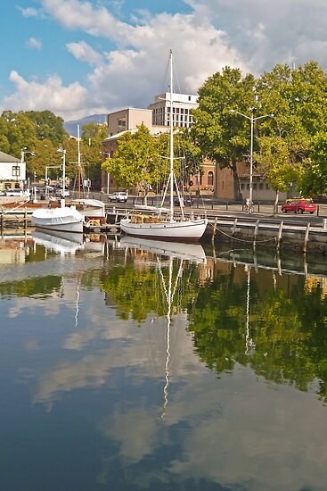 Reflections on Constitution Dock by TonyCrehan