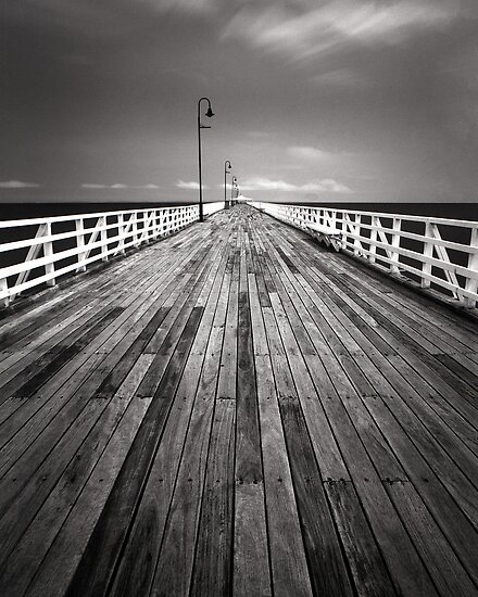"""Walking the Planks"" ∞ Shorncliffe, QLD - Australia by Jason Asher"