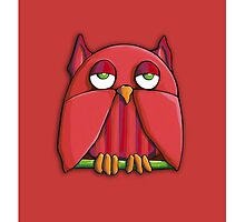 Red Owl red by Mariana Musa