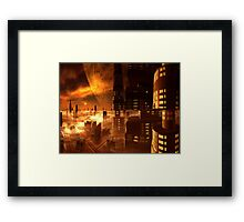 View from Estorian Plaza Hotel, Ganymede Framed Print
