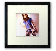 2012 - dance of the climber Framed Print