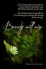 Beauty Will Rise (Card) by Tracy Friesen