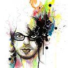 Self-Portrait by Daniel Savoie