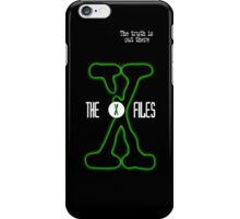 The truth is out there - X Files iPhone Case/Skin