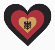 Germany Heart by Maria Bell