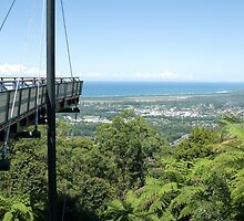 Forest Sky Pier, Sealy Lookout, Coffs Harbour, NSW by Adrian Paul