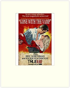 True Blood - Gone With the Vamp (Eric and Sookie) by riogirl9909