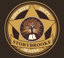 Storybrooke Sheriff Department by waywardtees