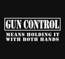 Funny gun Control by personalized