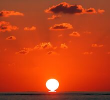 Sunset at Sea by Graham Taylor