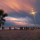 Barcelona at sunset by Jamie Shirlaw