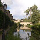 Luxembourg Bridge by Jamie Shirlaw