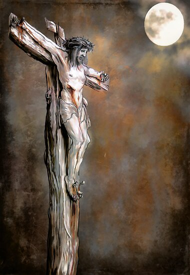 Christ on the Cross by andy551