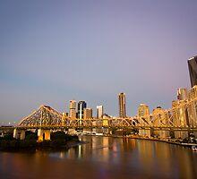 Story Bridge Sunrise by ryanashepherd