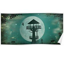 Seventh Heaven Tree House Poster