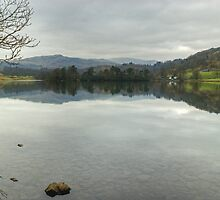 Rydal Water In March by VoluntaryRanger