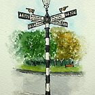 The Fingerpost, Pelsall by Lynne  Kirby