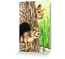Where on earth has that boy got to? Greeting Card