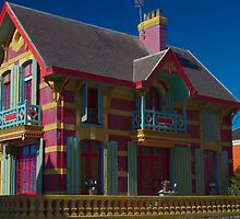 Wimereux, France. Villa at the beach. Nord Pas de Calais by 7horses