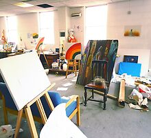 Community Artists Work Space. by - nawroski -