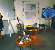 My Wall (Community Artists Work Space). by - nawroski -