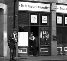 The All American Launderette by Esther  Moliné