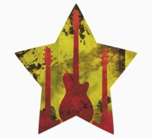 Rockstar guitar by Supaflysamurai