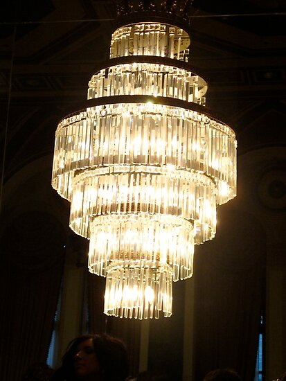 Crystal Chandelier by MarianBendeth
