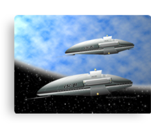 Space Destroyers Canvas Print