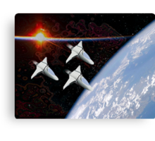 Starfighters Canvas Print