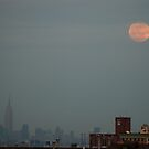 moon over manhattan by Kevin Koepke
