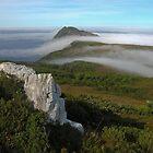 Sea fog over South West Cape by Langana