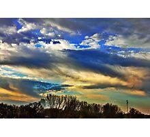 April Sunset Photographic Print